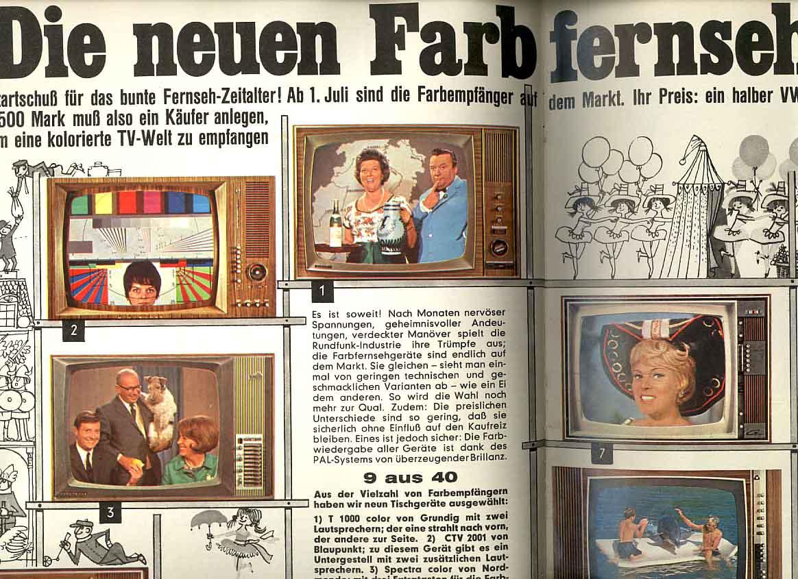 Altes Fernsehprogramm