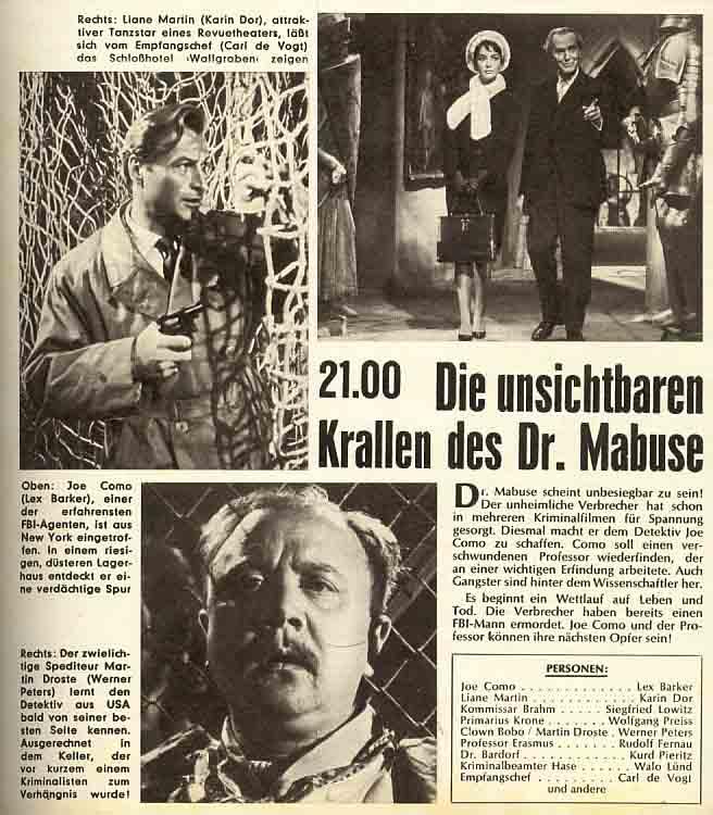 Das-waren-noch-Zeiten Fernsehen Dr. Mabuse